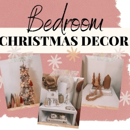 MY BEDROOM CHRISTMAS DECOR