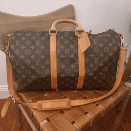 LOUIS VUITTON KEEPALL BANDOULIERE 45 REVIEW
